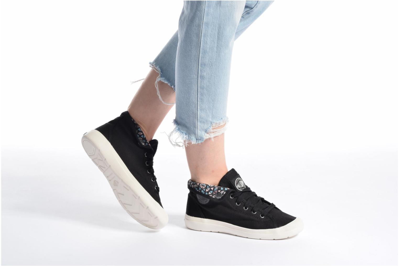 Sneakers Palladium Aventure F Zwart onder
