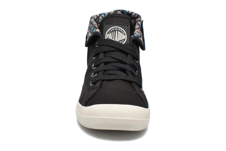Sneaker Palladium Aventure F schwarz schuhe getragen
