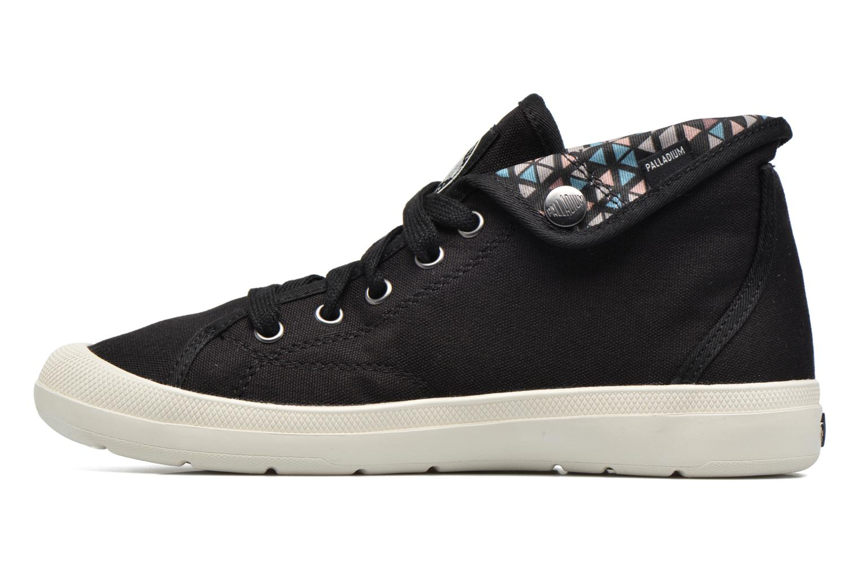 Sneakers Palladium Aventure F Zwart voorkant