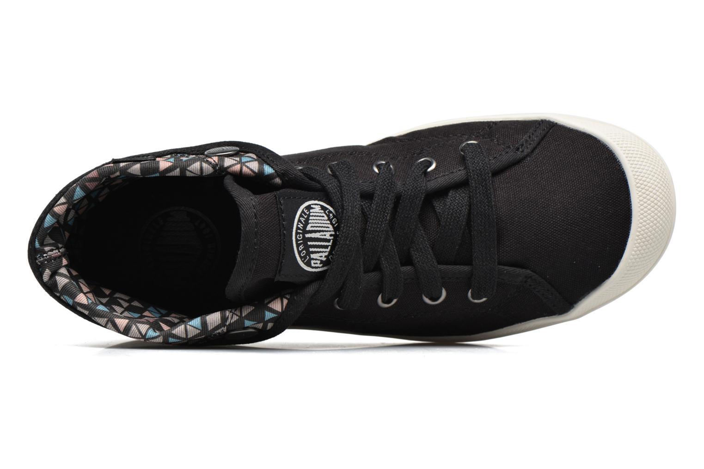 Sneakers Palladium Aventure F Zwart links