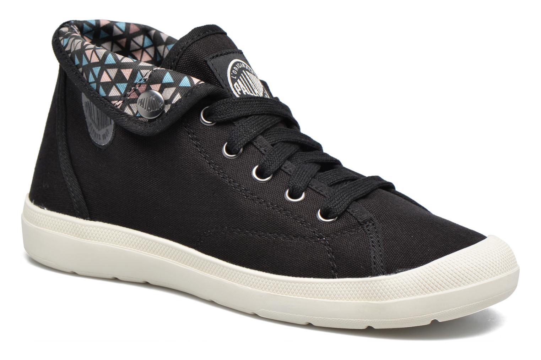 Sneakers Palladium Aventure F Sort detaljeret billede af skoene