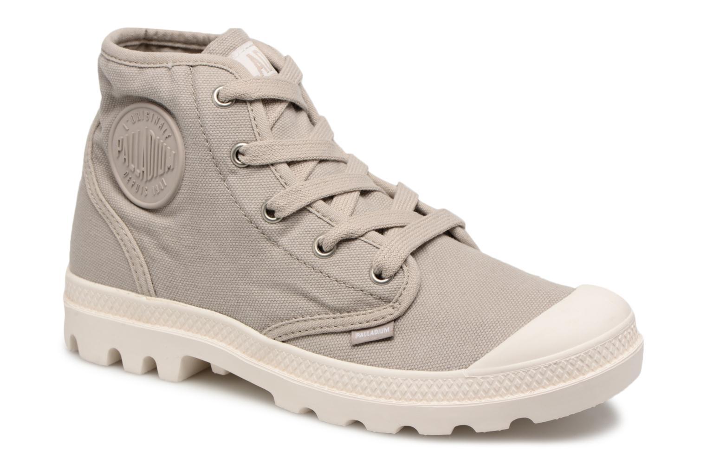 Grandes descuentos últimos zapatos Palladium Us Pampa Hi F (Gris) - Deportivas Descuento