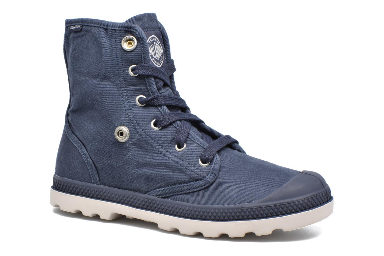 Sneakers Palladium Baggy Lp Tw P F Azzurro immagine 3/4