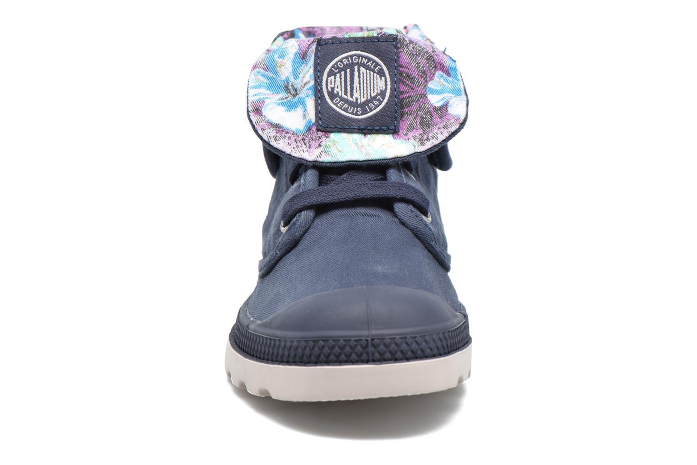 Baskets Palladium Baggy Lp Tw P F Bleu vue portées chaussures