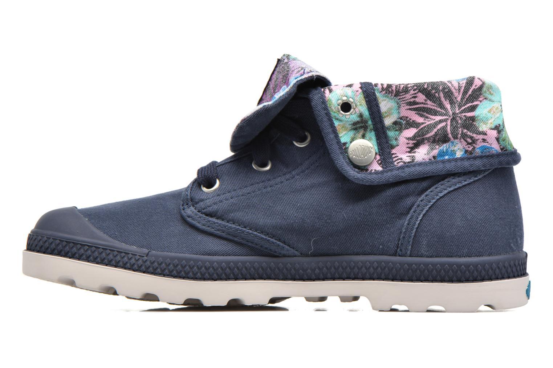 Sneakers Palladium Baggy Lp Tw P F Azzurro immagine frontale