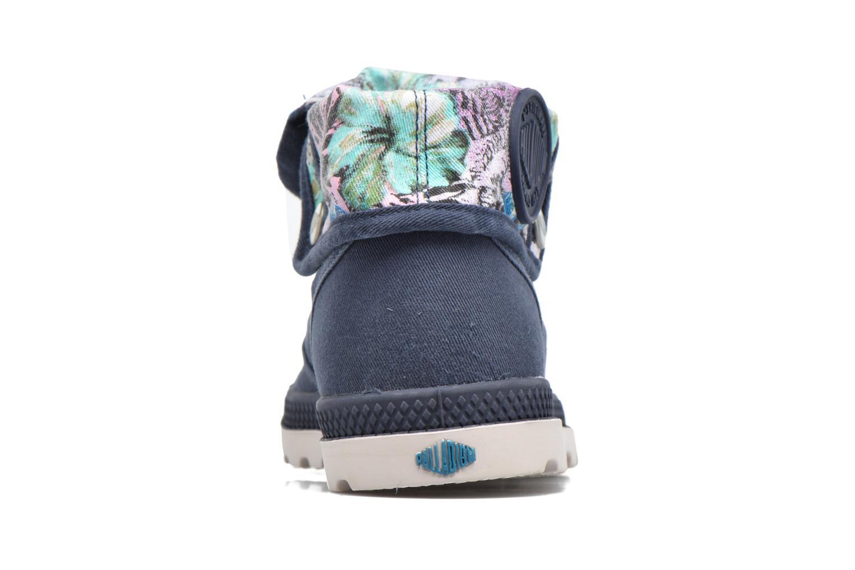 Sneakers Palladium Baggy Lp Tw P F Azzurro immagine destra