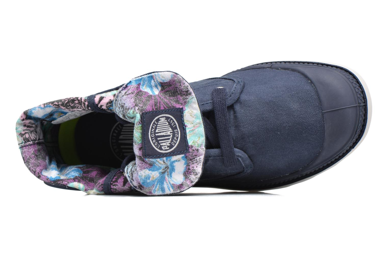 Sneakers Palladium Baggy Lp Tw P F Azzurro immagine sinistra