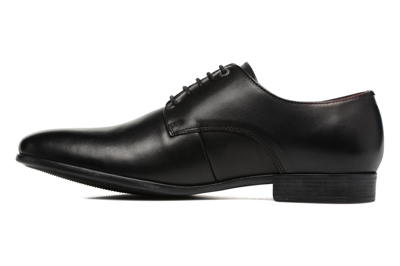 Chaussures à lacets Kickers Praduks Noir vue face