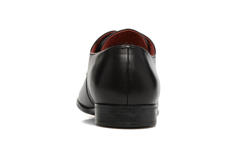 Chaussures à lacets Kickers Praduks Noir vue droite