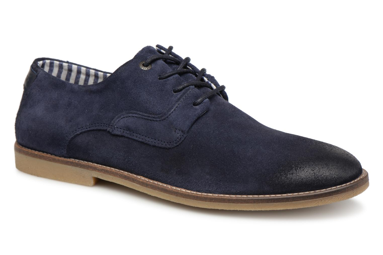 Chaussures à lacets Kickers Bachalcis Bleu vue détail/paire