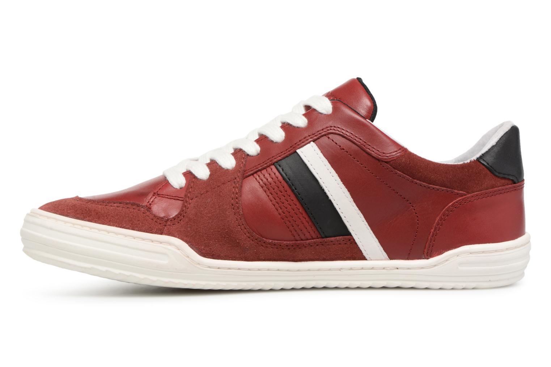 Sneaker Kickers Jexprime rot ansicht von vorne