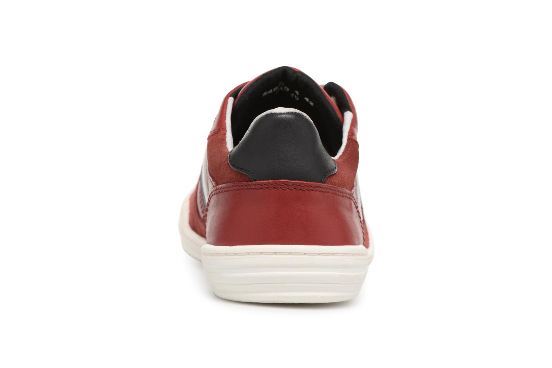 Sneakers Kickers Jexprime Rosso immagine destra