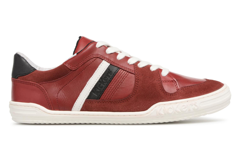 Sneakers Kickers Jexprime Rosso immagine posteriore