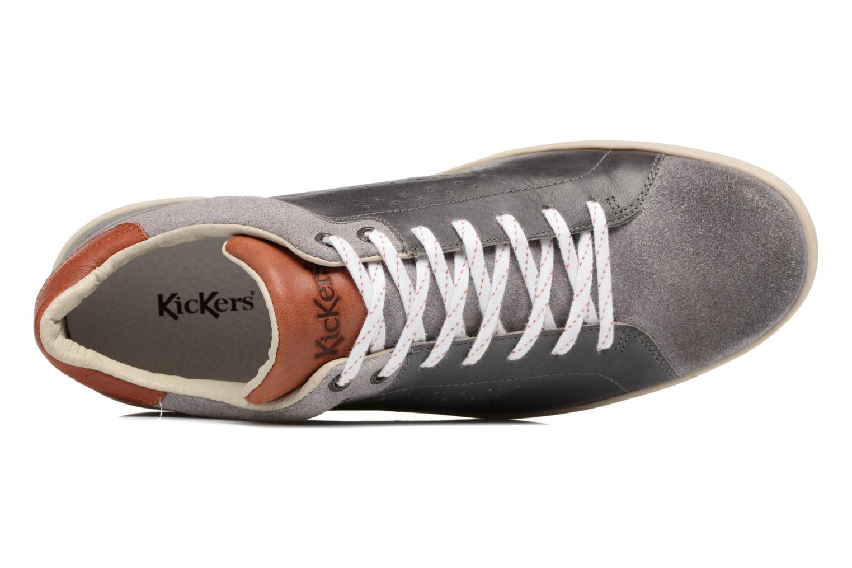 Sneaker Kickers Sniff grau ansicht von links