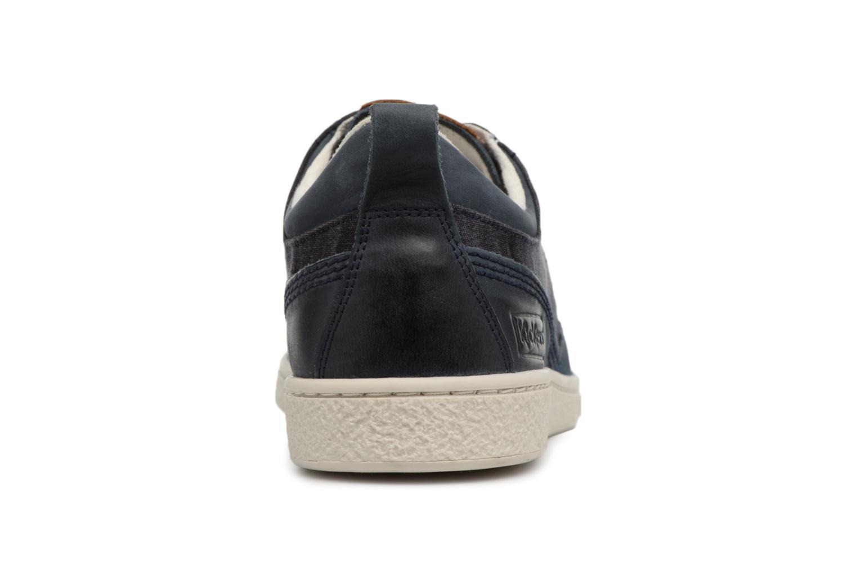 Sneakers Kickers Santa Fe Blauw rechts