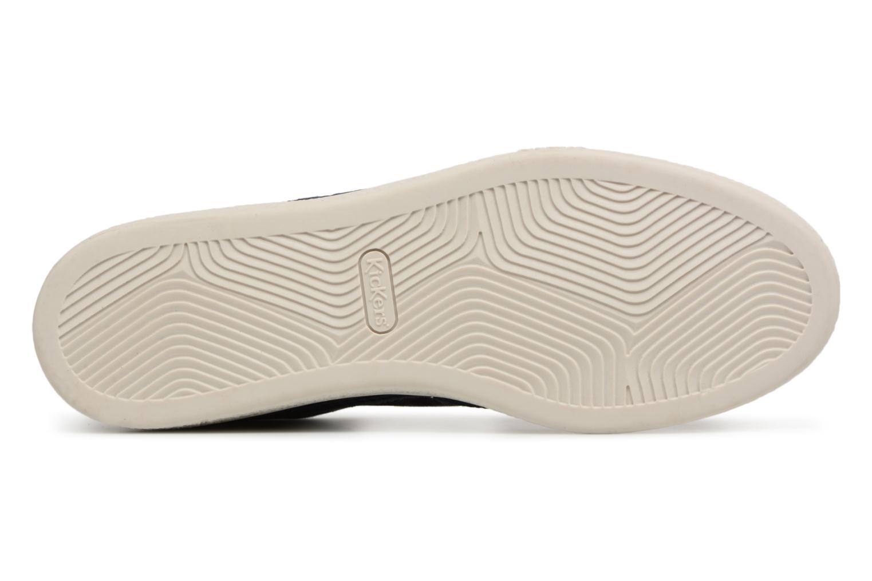 Sneakers Kickers Santa Fe Azzurro immagine dall'alto