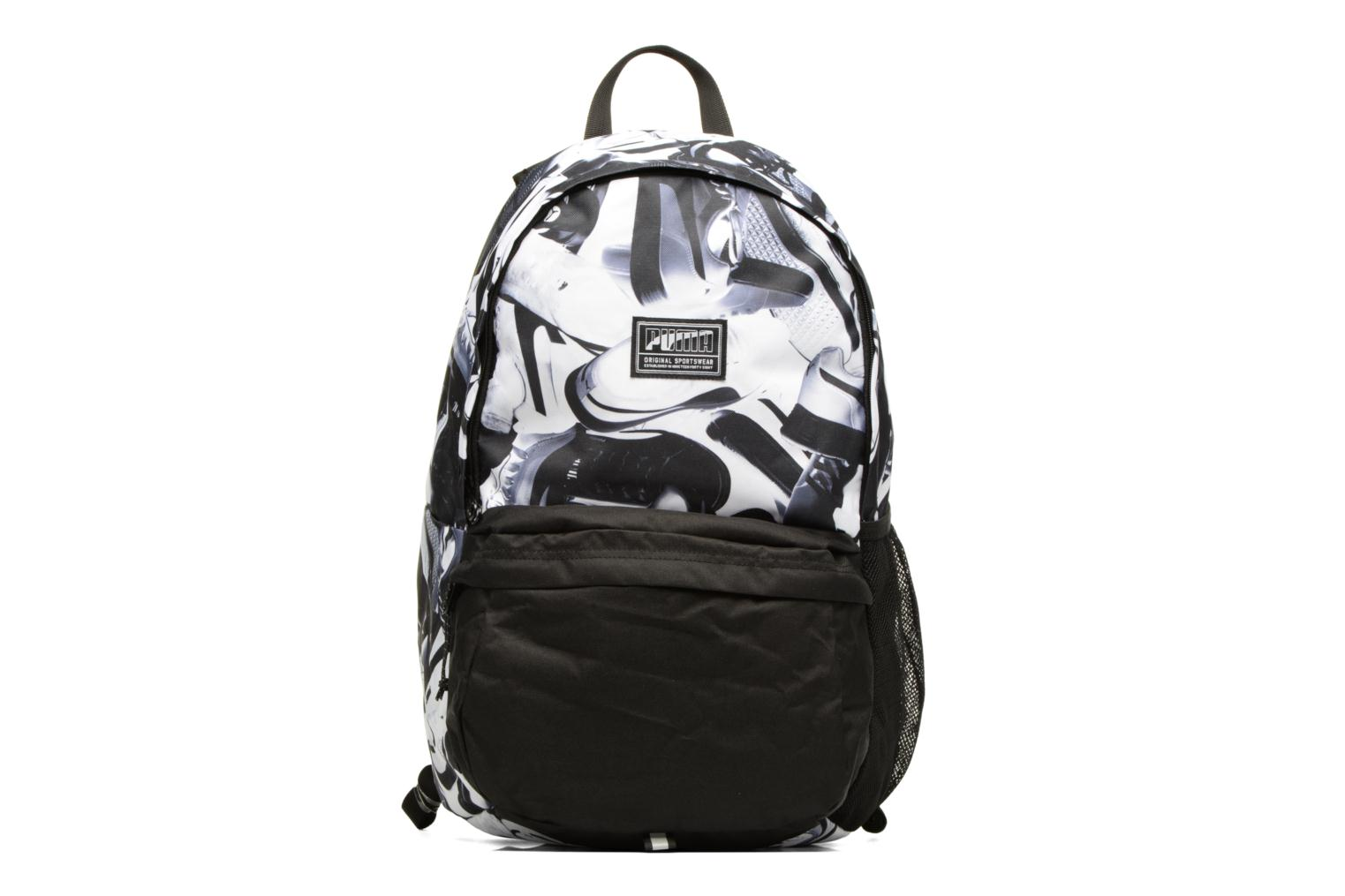 Academy Backpack Black-Puma White-sneaker graphic