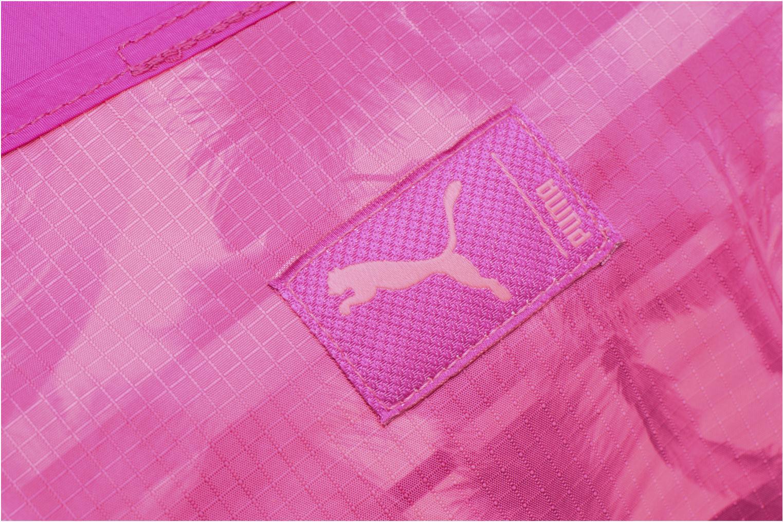 Sporttassen Puma Studio Barrel Bag Roze links