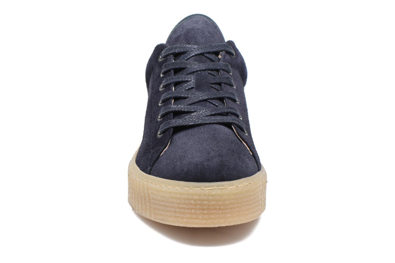 Baskets Mustang shoes Cara Bleu vue portées chaussures