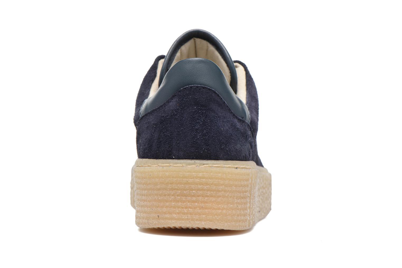 Baskets Mustang shoes Cara Bleu vue droite