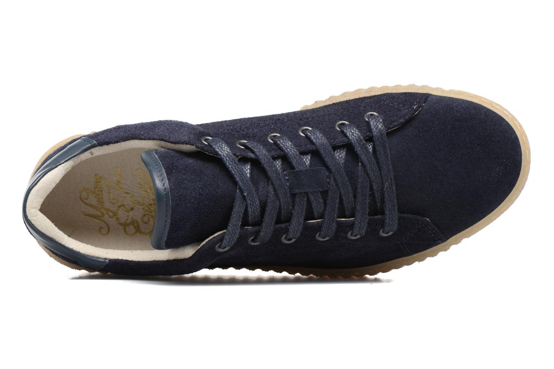 Baskets Mustang shoes Cara Bleu vue gauche
