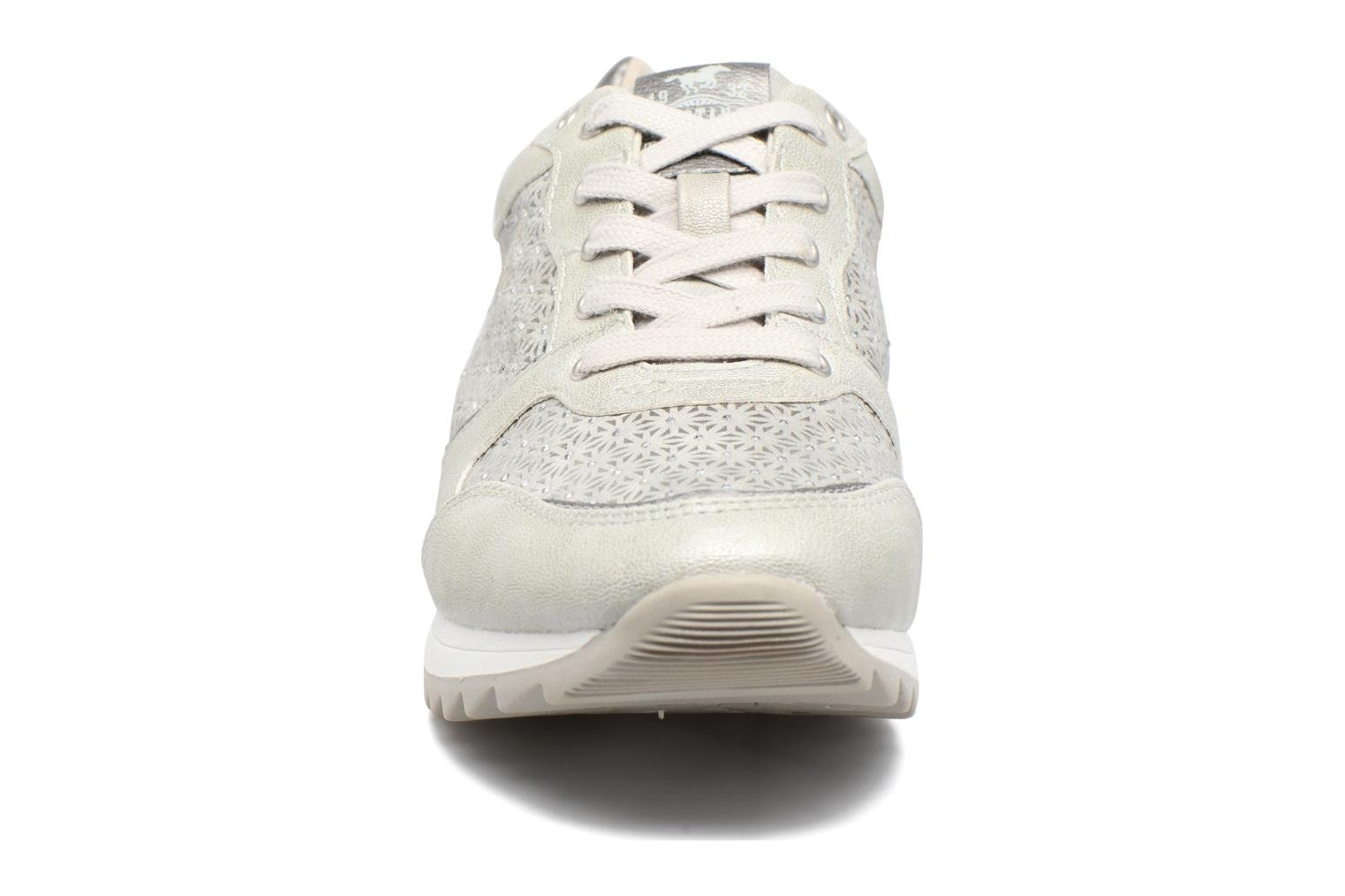 Trainers Mustang shoes Cacilia Silver model view