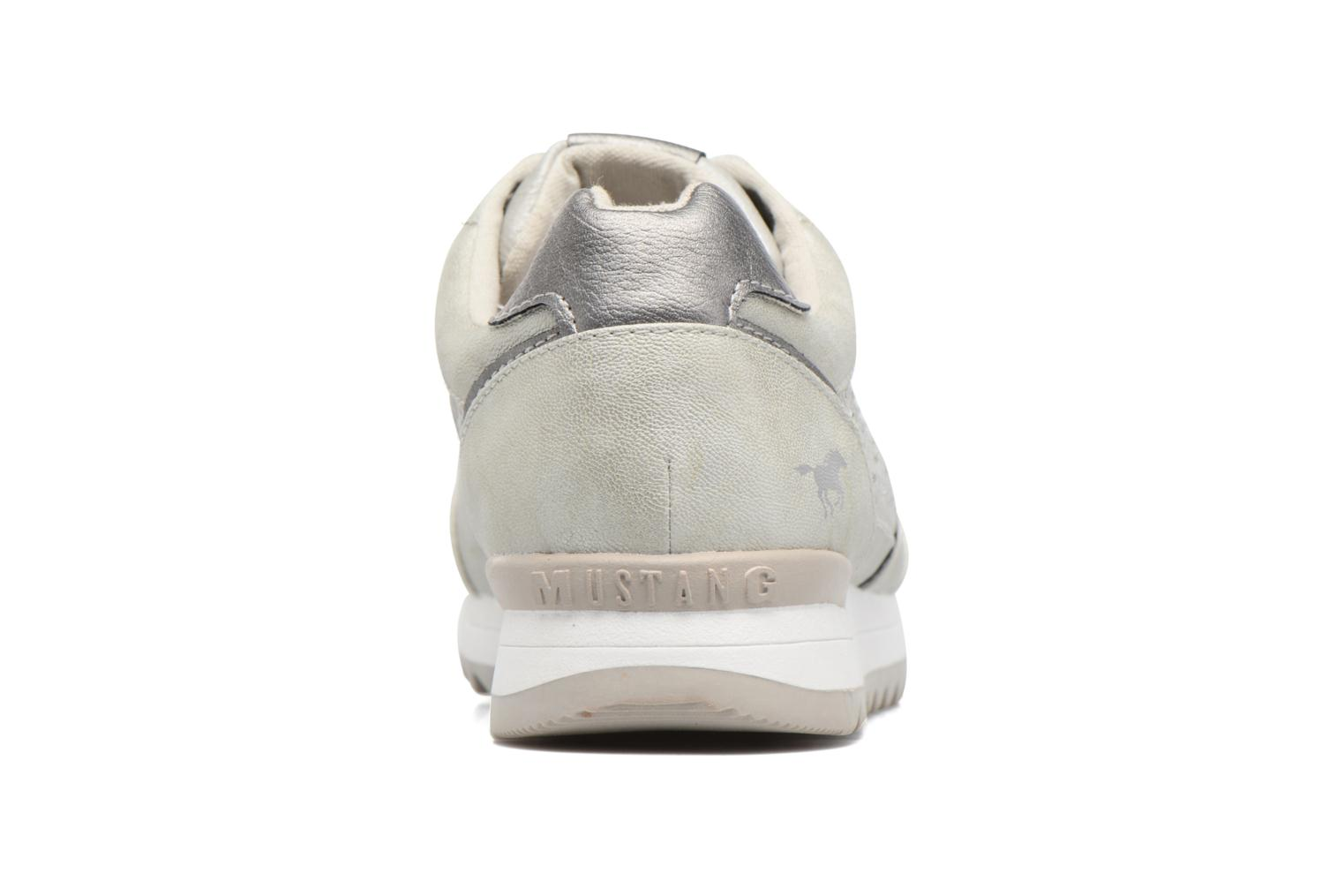 Sneaker Mustang shoes Cacilia silber ansicht von rechts
