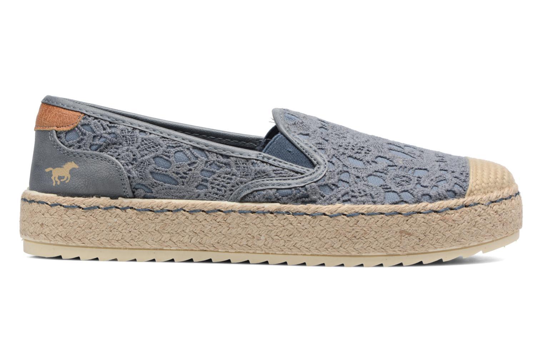 Scarpe di corda Mustang shoes Liese Azzurro immagine posteriore