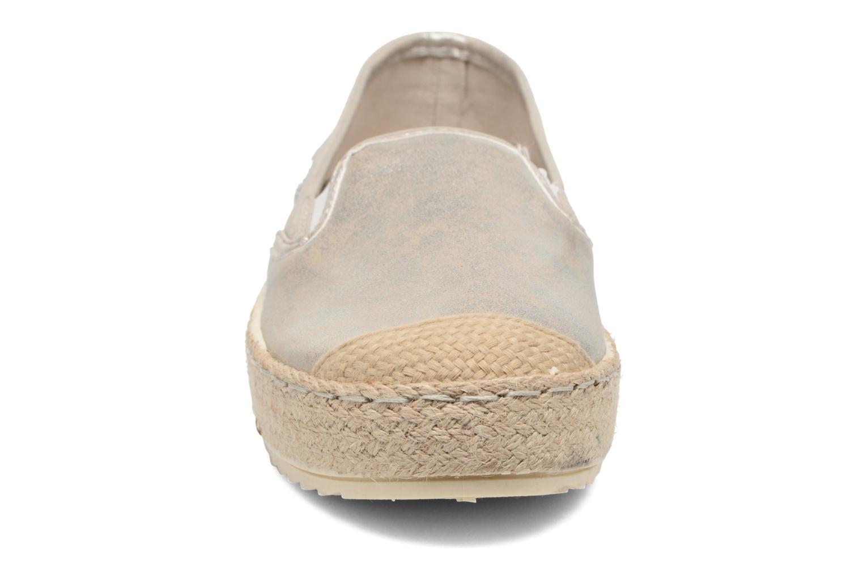 Espadrilles Mustang shoes Kathe Or et bronze vue portées chaussures