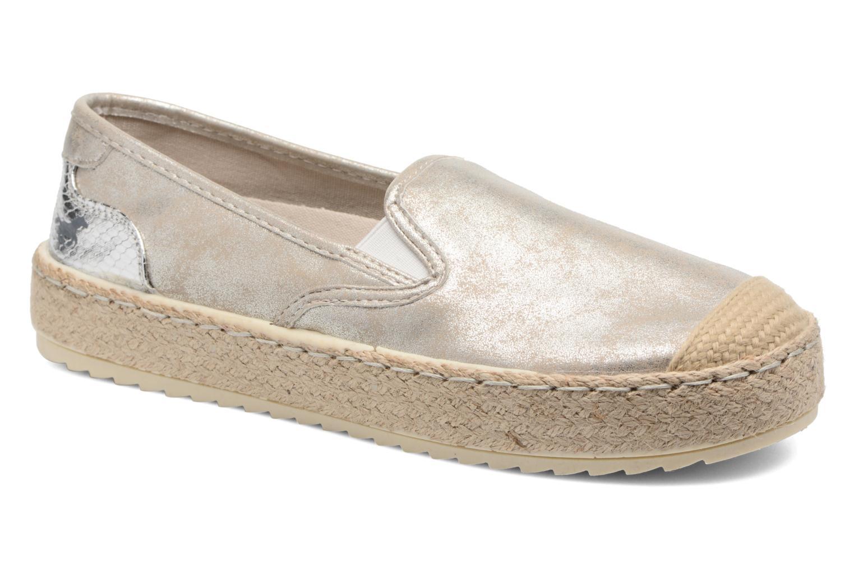 Mustang shoes - Damen - Kathe - Espadrilles - gold/bronze