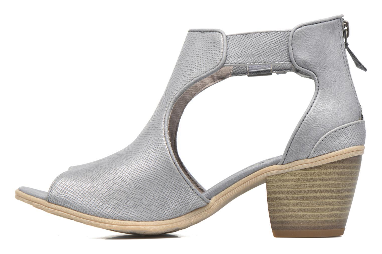 Boots en enkellaarsjes Mustang shoes Theda Grijs voorkant