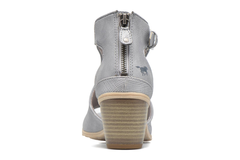 Boots en enkellaarsjes Mustang shoes Theda Grijs rechts
