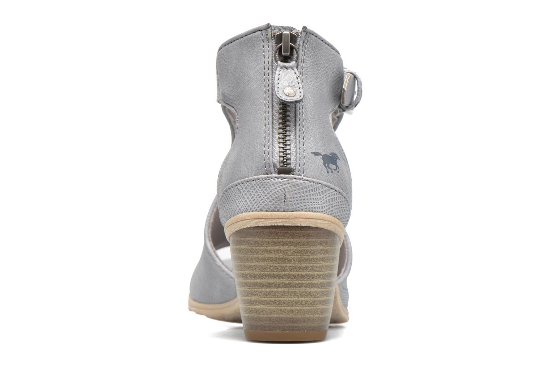 Stivaletti e tronchetti Mustang shoes Theda Grigio immagine destra