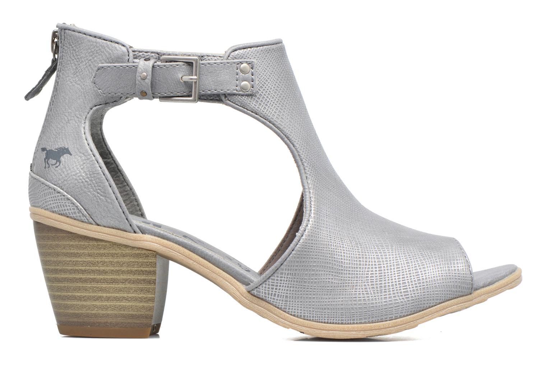 Stiefeletten & Boots Mustang shoes Theda grau ansicht von hinten