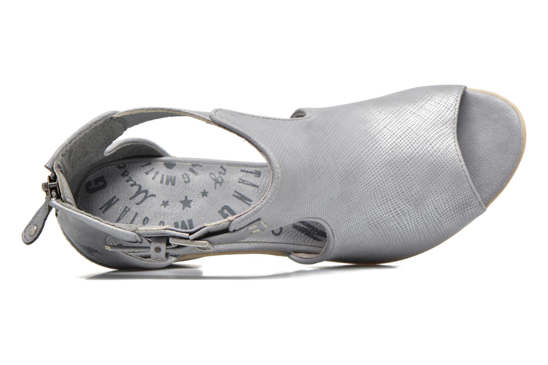 Boots en enkellaarsjes Mustang shoes Theda Grijs links