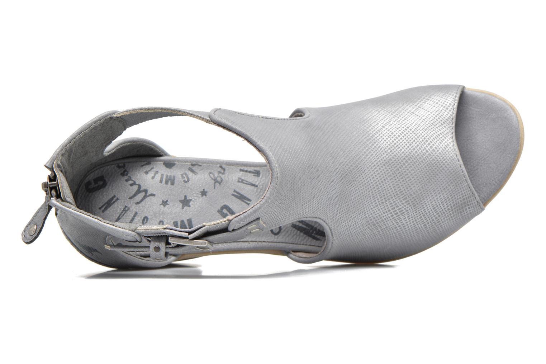 Stivaletti e tronchetti Mustang shoes Theda Grigio immagine sinistra