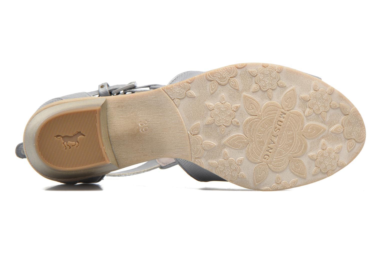 Stiefeletten & Boots Mustang shoes Theda grau ansicht von oben