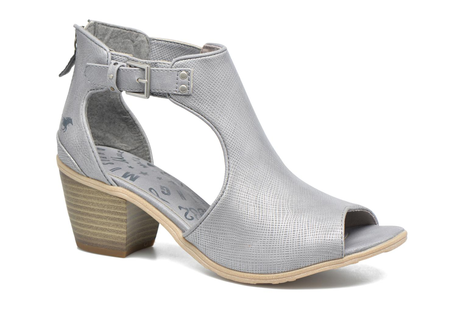 Ankle boots Mustang shoes Theda Grey detailed view/ Pair view