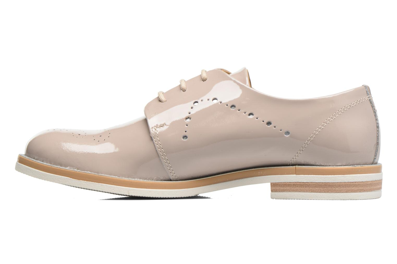 Zapatos con cordones Georgia Rose Maglit Beige vista de frente
