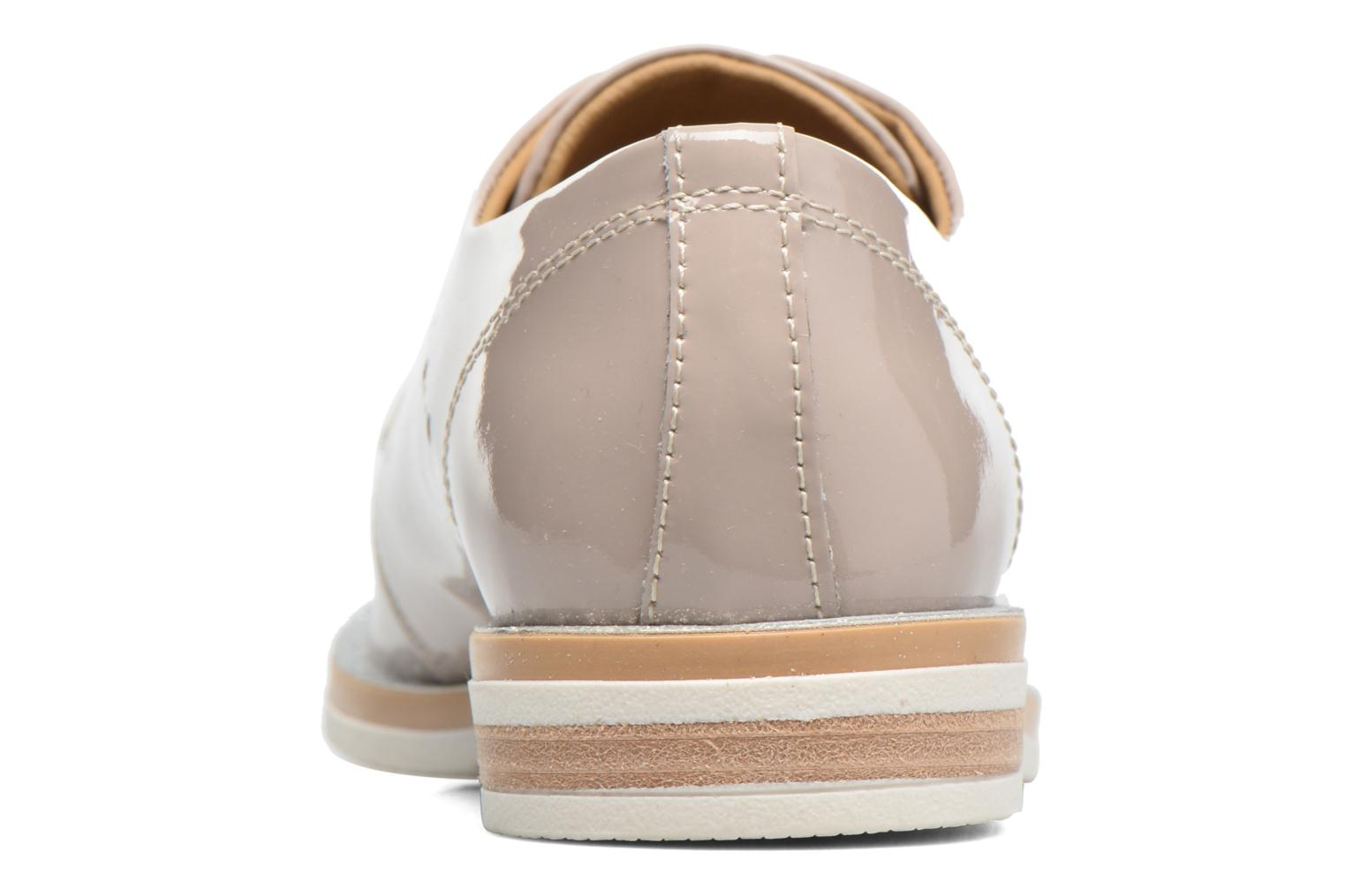 Lace-up shoes Georgia Rose Maglit Beige view from the right