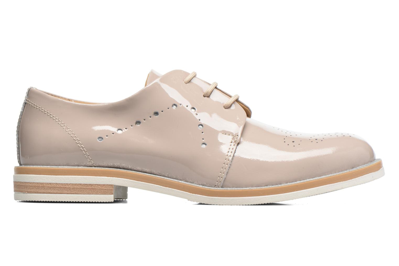 Chaussures à lacets Georgia Rose Maglit Beige vue derrière