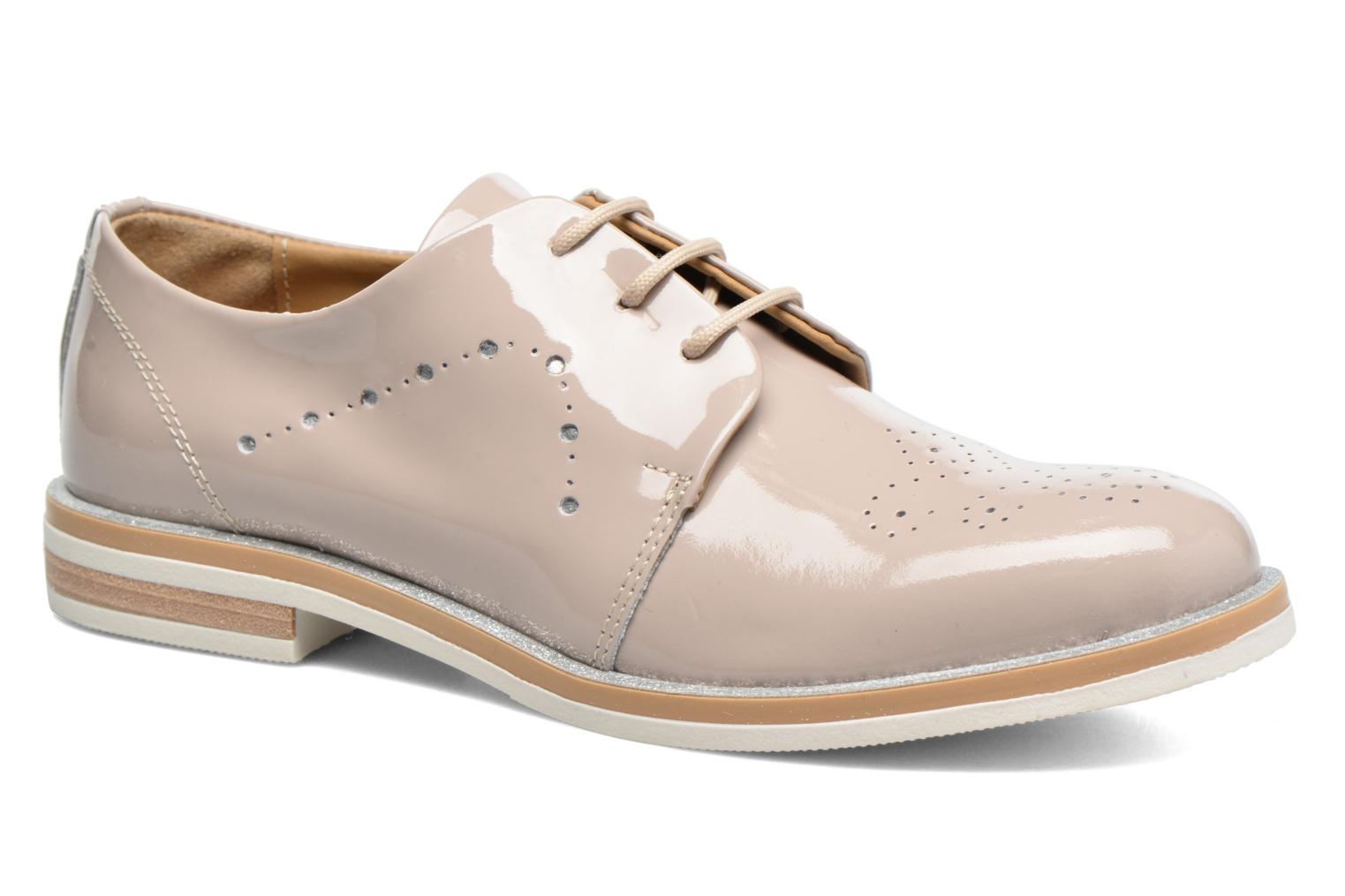 Lace-up shoes Georgia Rose Maglit Beige detailed view/ Pair view