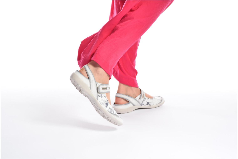 Bailarinas Remonte Lau R1741 Blanco vista de abajo