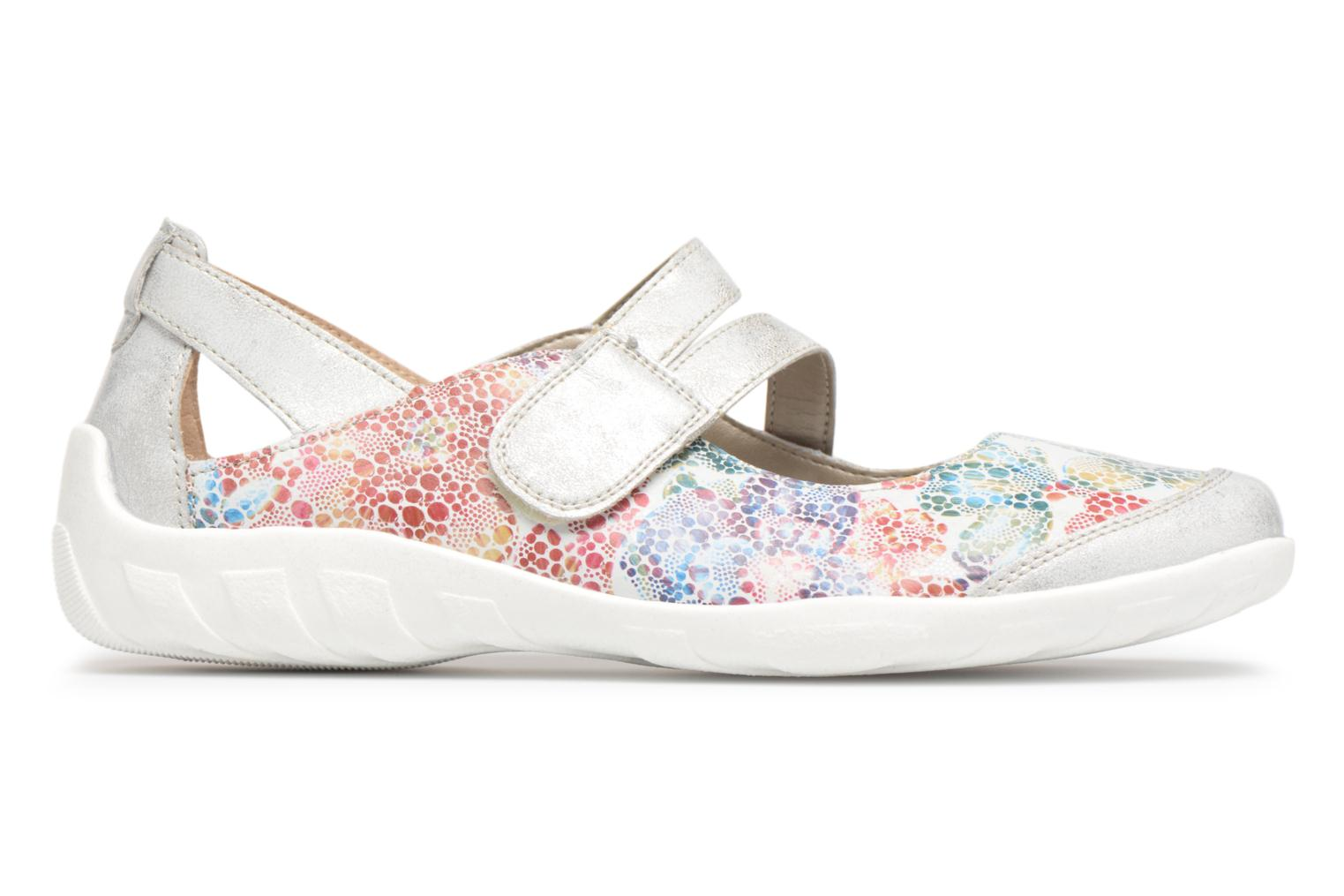 Ballet pumps Remonte Lizi R3427 Multicolor back view