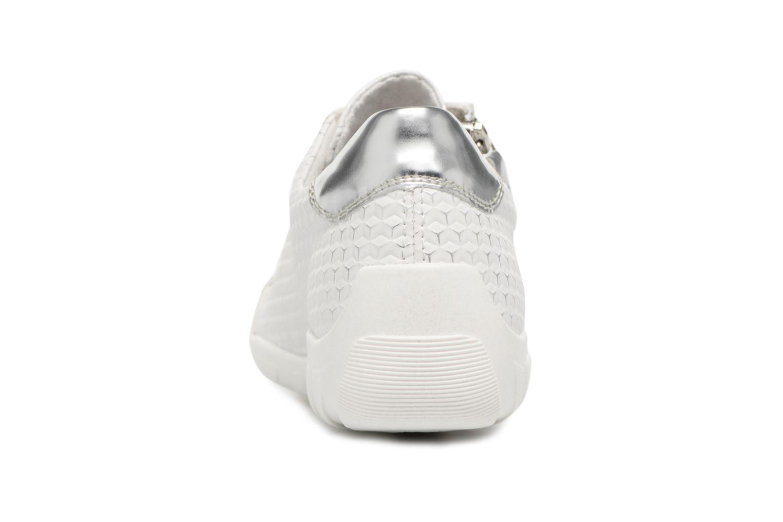 Baskets Remonte Galea R3435 Blanc vue droite
