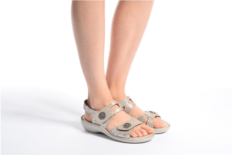 Sandales et nu-pieds Remonte Dalei R8570 Argent vue bas / vue portée sac