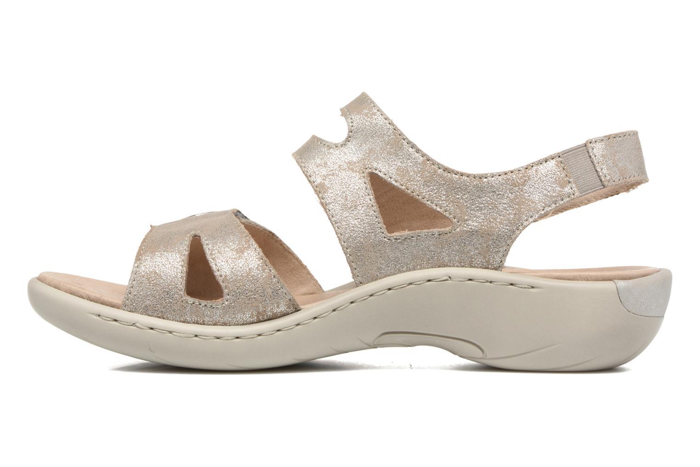 Sandales et nu-pieds Remonte Dalei R8570 Argent vue face