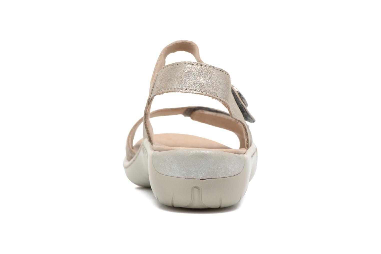 Sandales et nu-pieds Remonte Dalei R8570 Argent vue droite