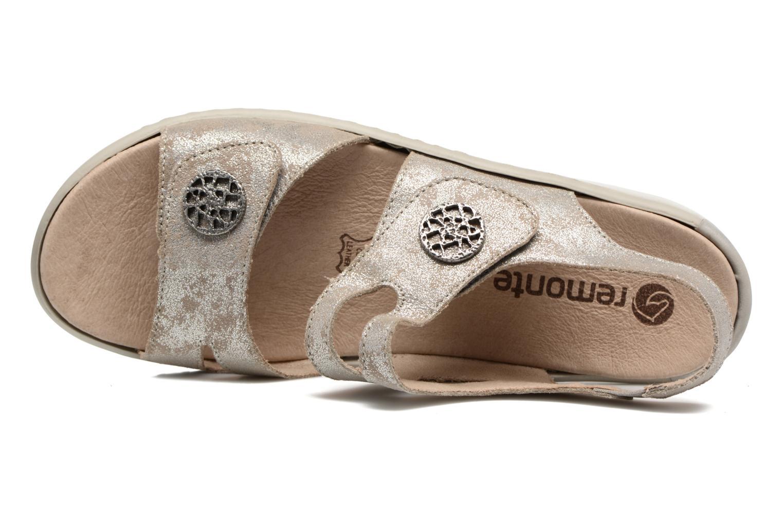 Sandales et nu-pieds Remonte Dalei R8570 Argent vue gauche