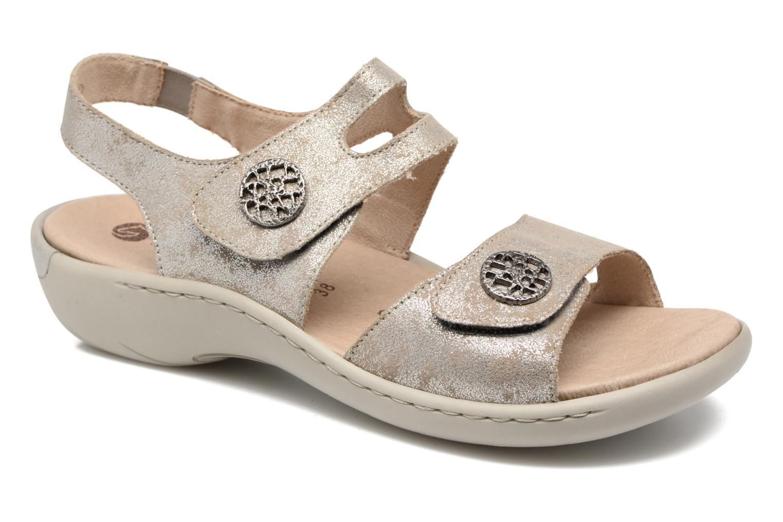 Sandales et nu-pieds Remonte Dalei R8570 Argent vue détail/paire